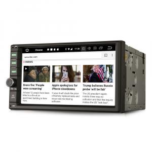 Navigatie auto 2 din, Universala, Android 9.0 , WIFI+GPS, 7 inch DAB+,Quad core CPU.4