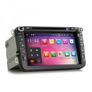 Navigatie auto universala 2DIN(VW/SEAT/SKODA), 8 inch, Android 10, Gps 4G , 2GB RAM, 16GB memorie interna5