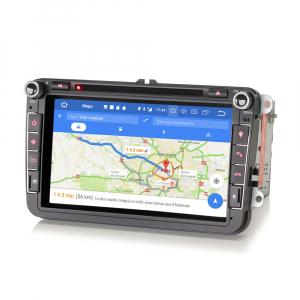 Navigatie auto universala 2DIN(VW/SEAT/SKODA), 8 inch, Android 10, Gps 4G , 2GB RAM, 16GB memorie interna6