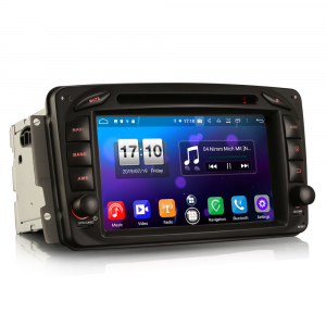 Navigatie auto, Pachet dedicat Mercedes BENZ C/CLK/G Class Vito Viano, Android 9.0, 7 inch, DAB+,8-Core CPU. [7]