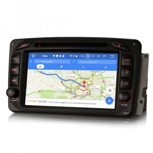 Navigatie auto, Pachet dedicat Mercedes BENZ C/CLK/G Class Vito Viano, Android 9.0, 7 inch, DAB+,8-Core CPU. [8]