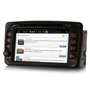 Navigatie auto, Pachet dedicat Mercedes BENZ C/CLK/G Class Vito Viano, Android 9.0, 7 inch, DAB+,8-Core CPU. [2]