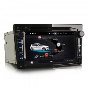 Navigatie auto, Pachet dedicat Opel Vauxhall Vivaro Astra Corsa Zafira ,8 Core, 7 inch, Android 9.0, GPS, WIFI, DAB+ [2]