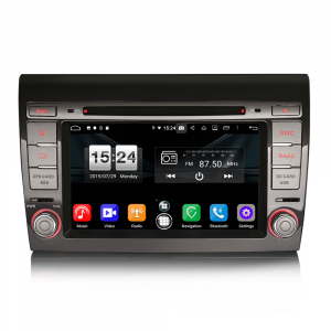 Navigatie auto, Pachet dedicat Fiat Bravo ,7 inch, Android 9.0,8 Core, GPS, WIFI, DAB+0