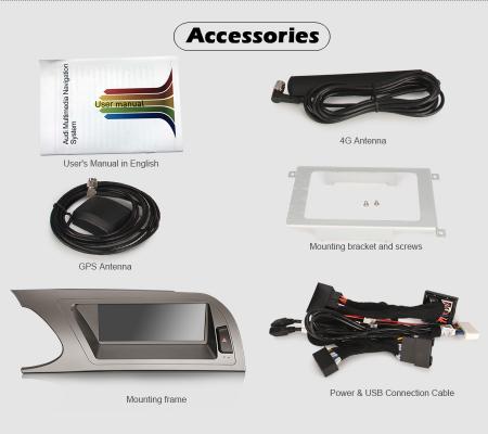 Navigatie auto, Pachet dedicat Audi A4 2009-2012, Android 10.0, 8.8 Inch [13]