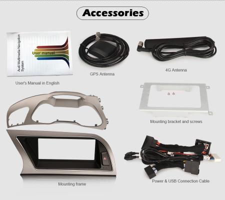 Navigatie auto, Pachet dedicat Audi A4 2013-2016,8.8 inch, Android 10 [11]