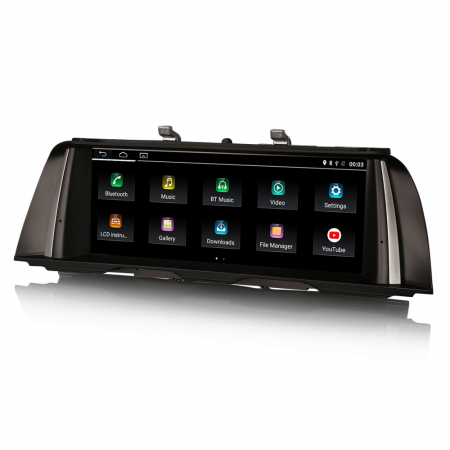 Navigatie auto, Pachet dedicat BMW F10/F11 CIC ,10.25 Inch, Android 10.0 [2]
