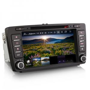 Navigatie auto, Pachet dedicat Skoda Superb Octavia, 8 inch, Android 10.0 [3]
