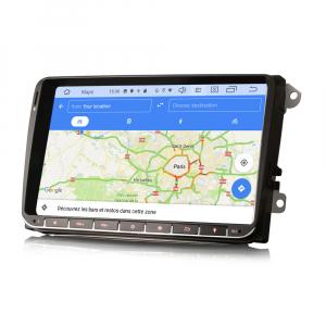 Navigatie auto, Pachet dedicat VW Passat Golf 5 Touran Polo Seat, 9 inch, Android 10.0 [8]