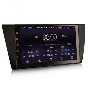 Navigatie auto, Pachet dedicat BMW Seria 3 E90 E91 E92 E93 M3, 9 inch, Android 10.07