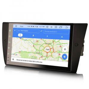 Navigatie auto, Pachet dedicat BMW Seria 3 E90 E91 E92 E93 M3, 9 inch, Android 10.08