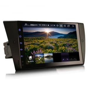 Navigatie auto, Pachet dedicat BMW Seria 3 E90 E91 E92 E93 M3, 9 inch, Android 10.03