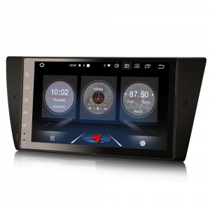 Navigatie auto, Pachet dedicat BMW Seria 3 E90 E91 E92 E93 M3, 9 inch, Android 10.04