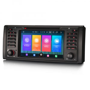 Navigatie auto, Pachet dedicat BMW Seria 5/M5/X5,7 inch, Android 10.01