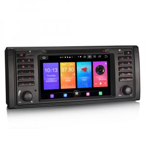 Navigatie auto, Pachet dedicat BMW Seria 5/M5/X5,7 inch, Android 10.05