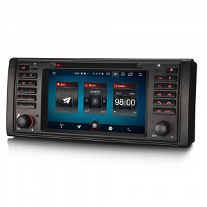 Navigatie auto, Pachet dedicat BMW Seria 5/M5/X5,7 inch, Android 10.06