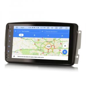 Navigatie auto, Pachet dedicat Mercedes Benz W203 Vito, Android 10.0, 8 inch8