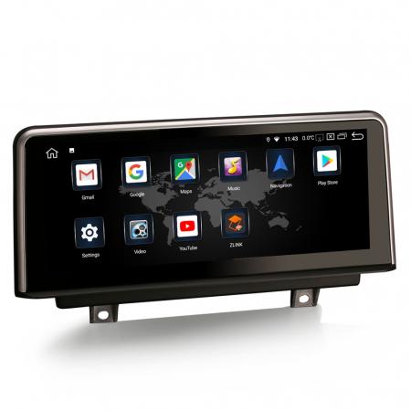 Navigatie auto, Pachet dedicat BMW 1er-F20/F21, 3er-F30/F31/F34, 4er-F32/F3 , 10.25 Inch, Android 10.0, Octa Core [9]