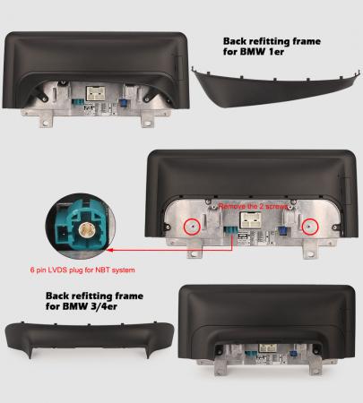 Navigatie auto, Pachet dedicat BMW 1er-F20/F21, 3er-F30/F31/F34, 4er-F32/F3 , 10.25 Inch, Android 10.0, Octa Core [12]