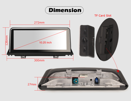Navigatie auto, Pachet dedicat BMW X5 E70 CIC X6 E71 CCC, 10.25 Inch, Android 10.0, Octa Core [12]