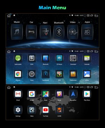 Navigatie auto, Pachet dedicat BMW Seria 7 F01/F02 CIC NBT, 10.25 Inch, Android 10.0, Octa Core [10]