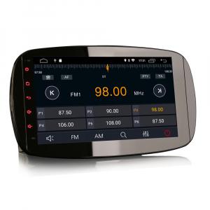 Navigatie auto, Pachet dedicat Mercedes-Benz Smart, Android 10, 9 Inch [4]