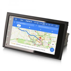 Navigatie auto, Pachet dedicat AUDI A4, 8 inch, Android 10.07