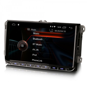 Navigatie auto, Pachet dedicat VW/SEAT/SKODA, Android 10 , 9 inch [2]