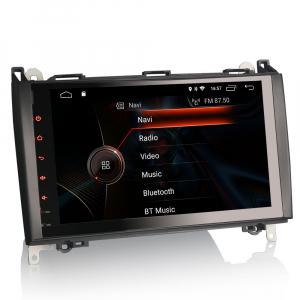 Navigatie auto, Pachet dedicat Mercedes BENZ, Android 10.0, 9 inch [3]