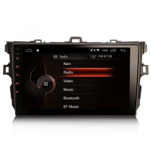 Navigatie auto, Pachet dedicat TOYOTA COROLLA, 9 inch, Android 100