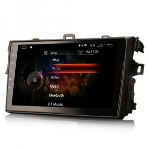 Navigatie auto, Pachet dedicat TOYOTA COROLLA, 9 inch, Android 105