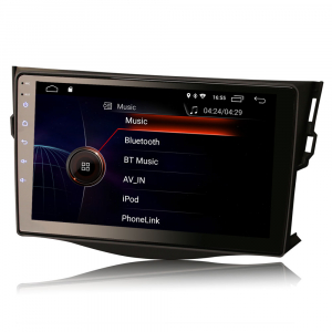 Navigatie auto, Pachet dedicat TOYOTA RAV4, 9 inch, Android 104