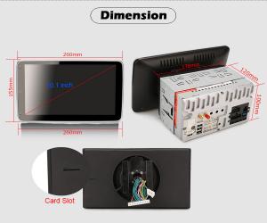Navigatie auto universala 2DIN, 10.1 inch, Android 10.09