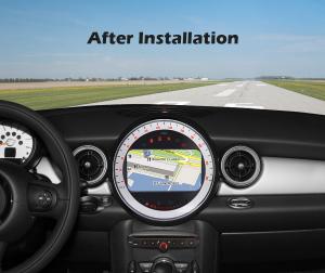 Navigatie auto, Pachet dedicat BMW Mini Cooper, 7 Inch, Android 10.010