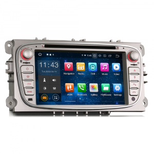 Navigatie auto 2 din, Pachet dedicat FORD Ford Focus Mondeo, Galaxy,Android 10, 7 inch [5]