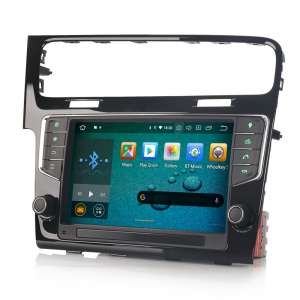 Navigatie auto 2 din, Pachet dedicat VW GOLF VII/7, Android 10, 9 inch [4]