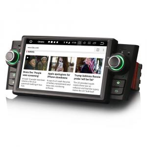 Navigatie auto, Pachet dedicat Fiat Punto Linea ,7 inch, Android 102