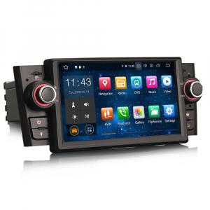 Navigatie auto, Pachet dedicat Fiat Punto Linea ,7 inch, Android 104