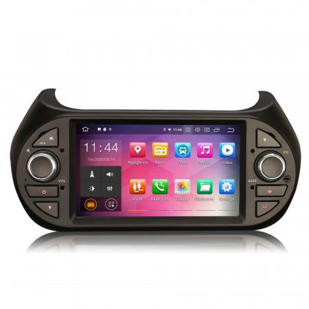 Navigatie auto, Pachet dedicat Fiat Fiorino Citroen Nemo Peugeot Bipper  ,7 inch, Android 10.00