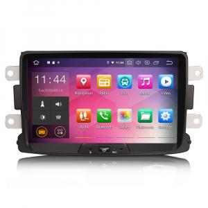 Navigatie auto, Pachet dedicat RENAULT/DACIA, Android 10.0; 8 Inch0
