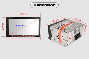 Navigatie auto universala 2DIN,(Nissan) 6.95 inch, Android 10.011