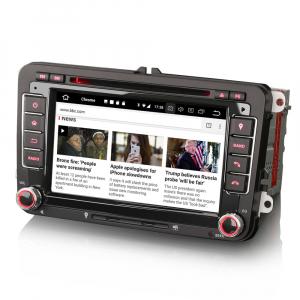 Navigatie auto 2 din, Pachet dedicat VW/SEAT/SKODA, Android 10 ,7 inch [1]