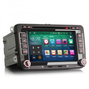 Navigatie auto 2 din, Pachet dedicat VW/SEAT/SKODA, Android 10 ,7 inch [3]