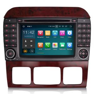 Navigatie auto, Pachet dedicat Mercedes Benz S/CL Class W220 W215 S500 CL55 , Android 10.0, 7 inch [0]