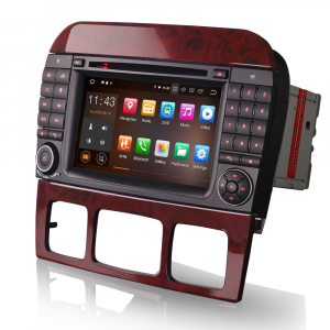 Navigatie auto, Pachet dedicat Mercedes Benz S/CL Class W220 W215 S500 CL55 , Android 10.0, 7 inch [6]