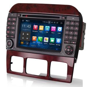 Navigatie auto, Pachet dedicat Mercedes Benz S/CL Class W220 W215 S500 CL55 , Android 10.0, 7 inch [2]