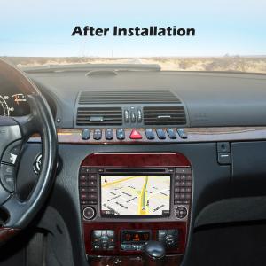 Navigatie auto, Pachet dedicat Mercedes Benz S/CL Class W220 W215 S500 CL55 , Android 10.0, 7 inch [8]