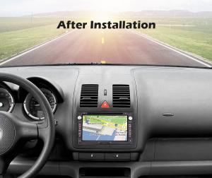Navigatie auto 2 din, Pachet dedicat VW Golf Passat Polo Lupo Seat Peugeot 307, Android 10, 7 inch [7]