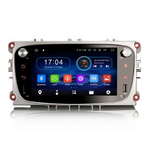 Navigatie auto 2 din, Pachet dedicat Ford Focus Mondeo, 7 Inch, Android 10.00