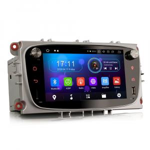 Navigatie auto 2 din, Pachet dedicat Ford Focus Mondeo, 7 Inch, Android 10.06